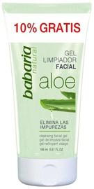 Makiažo valiklis Babaria Aloe Vera Cleansing Facial Gel, 165 ml