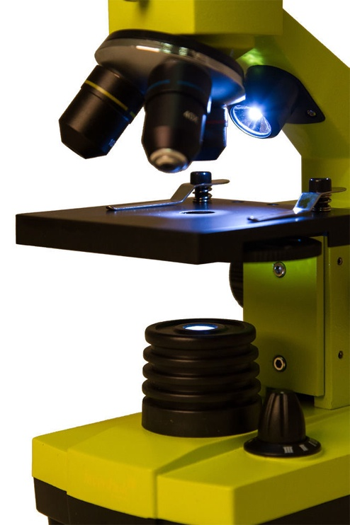 Mikroskoop Levenhuk Rainbow 2L Plus Microscope Lime