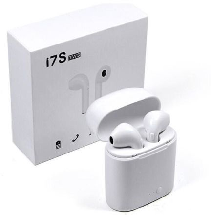 Belaidės ausinės Blackmoon i7S TWS White