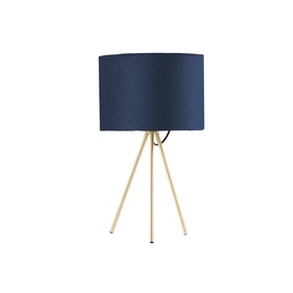 Home4you Trinity Table Lamp E27 40W Blue/Gold
