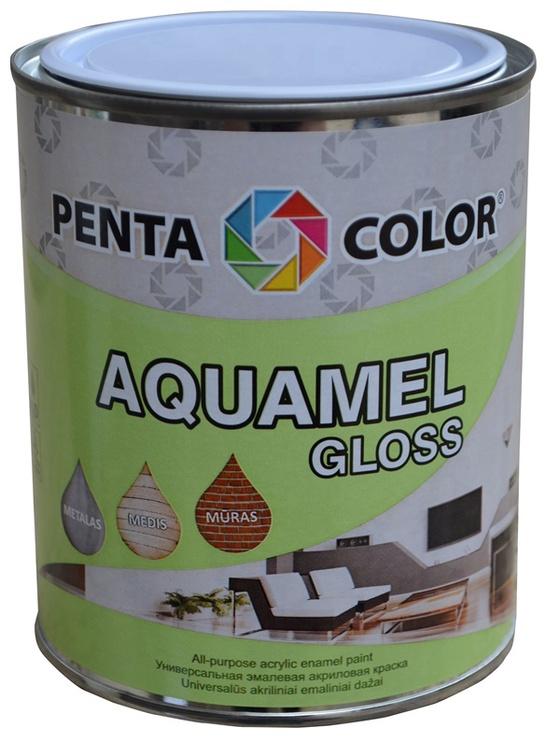Krāsa Pentacolor Aquamel, 0.7kg, spīdīga dzeltena