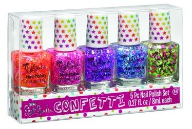 Make It Real Style Studio Confetti Nail Polish Set 5pcs