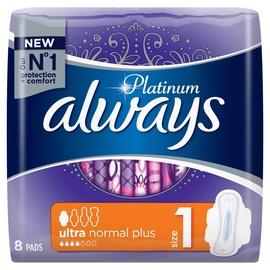Always Pads Ultra Platinum Normal Single 8pcs