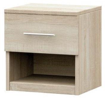 Idzczak Meble Bedside Table Alex Sonoma Oak