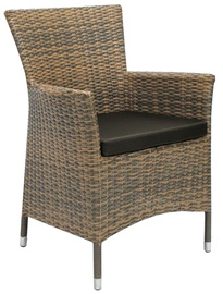 Home4you Wicker Brown/Dark Brown