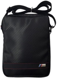 "BMW M-Sport Universal Shoulder Bag For Tablet 10.1"" Carbon Black"