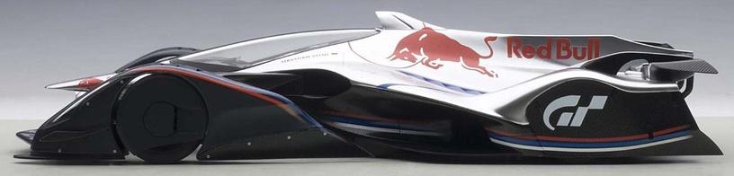 AUTOart Red Bull X2014 Fan Car Hyper Silver 18117