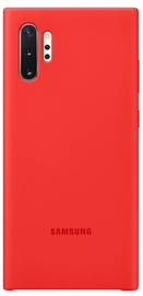 Samsung Silicone Back Case For Samsung Galaxy Note 10 Plus Red