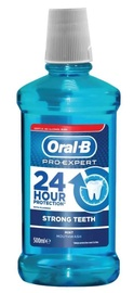 Oral-B Pro-Expert Strong Teeth Mouthwash Mint Flavour 500ml
