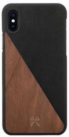 Woodcessories EcoSplit Back Case For Apple iPhone X Walnut/Black