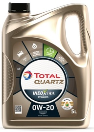 Mootoriõli Total Quartz Ineo Xtra Dynamics 0W - 20, sünteetiline, sõiduautole, 5 l