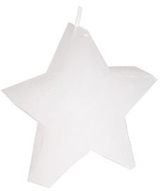 Verners Candle Star 9x5cm White