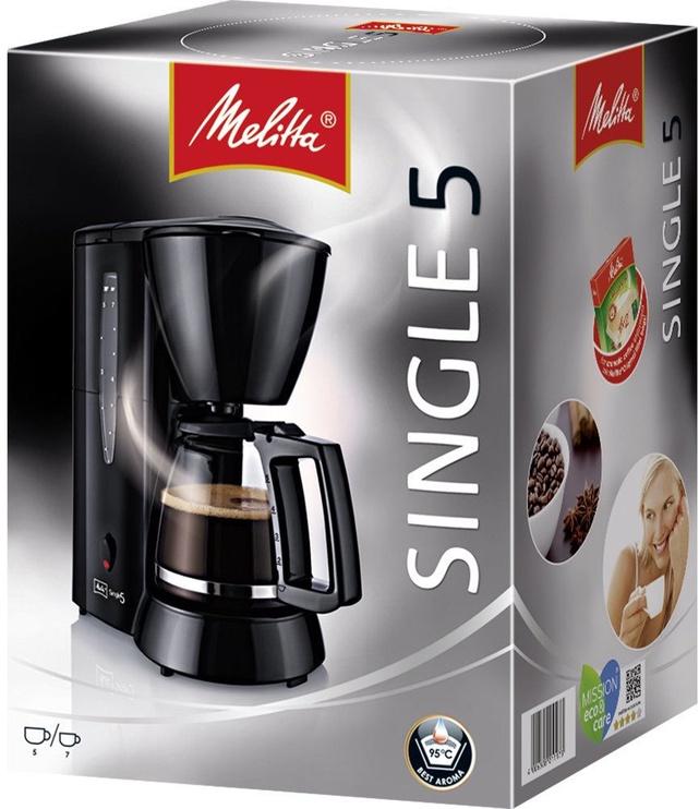 Kafijas automāts Melitta Single 5 M 720-1/2 Black