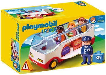 Playmobil 1-2-3 Airport Shuttle Bus 6773