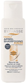 Plaukų kondicionierius Byphasse Family Dry & Damaged Hair Conditioner Shea Butter & Honey, 400 ml