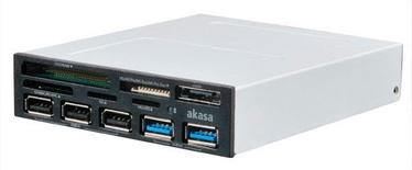 Akasa Card Reader USB 2.0 5-Port AK-ICR-16