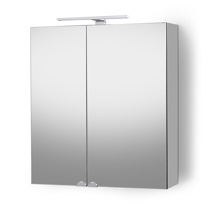 Pakabinama vonios spintelė Riva SV61-2, balta