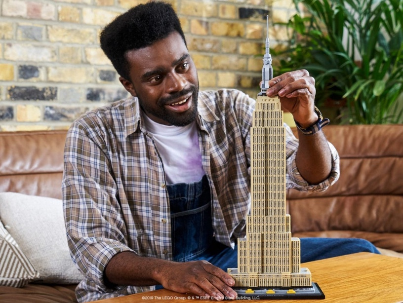 Konstruktorius LEGO® Architecture 21046 Empire State Building