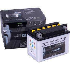 Аккумулятор IntAct CB4L-B, 12 В, 4 Ач, 20 а