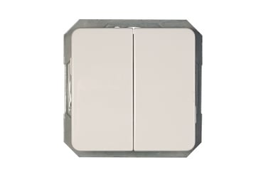 Perjungiklis Vilma LX200 P(6+6)10-020-02V, baltas