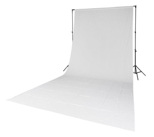 Quadralite Solid Muslin Backdrop 2,85x6m White