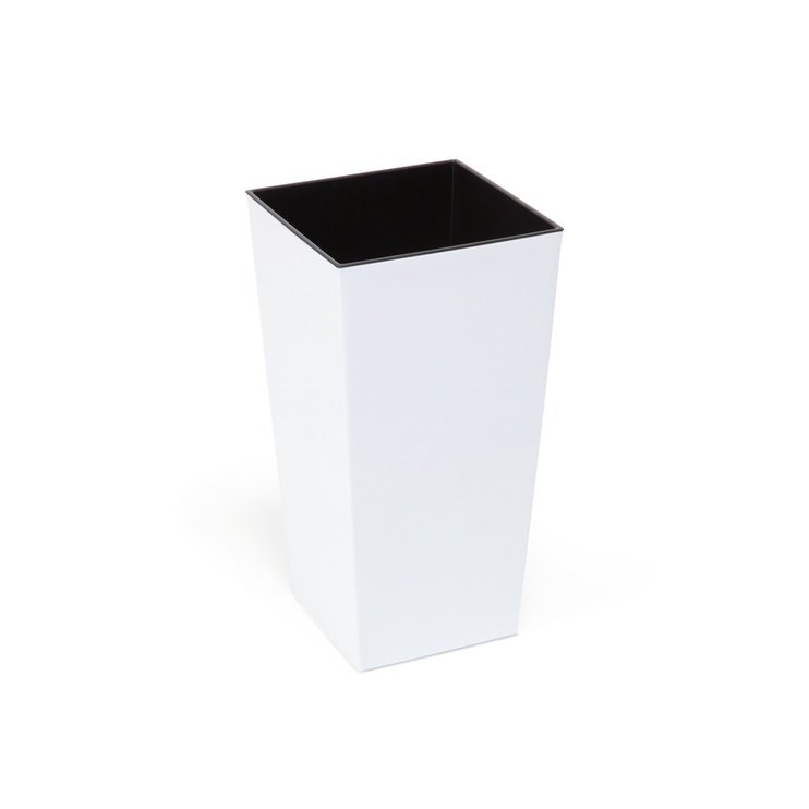 SN Finezija Indoor Plant Pot 35x35x68cm White