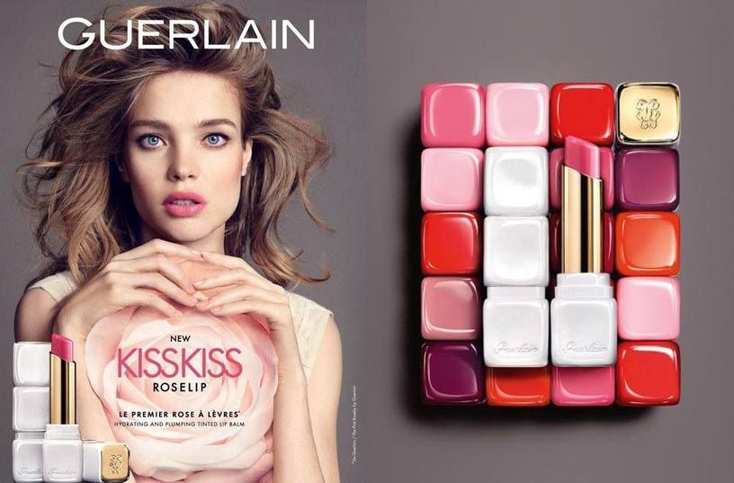 Guerlain KissKiss Roselip Lip Balm 2.8g Crazy Bouquet