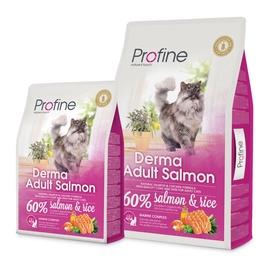 Sausas ėdalas katėms Profine Derma Adult, su lašiša ir ryžiais, 2 kg