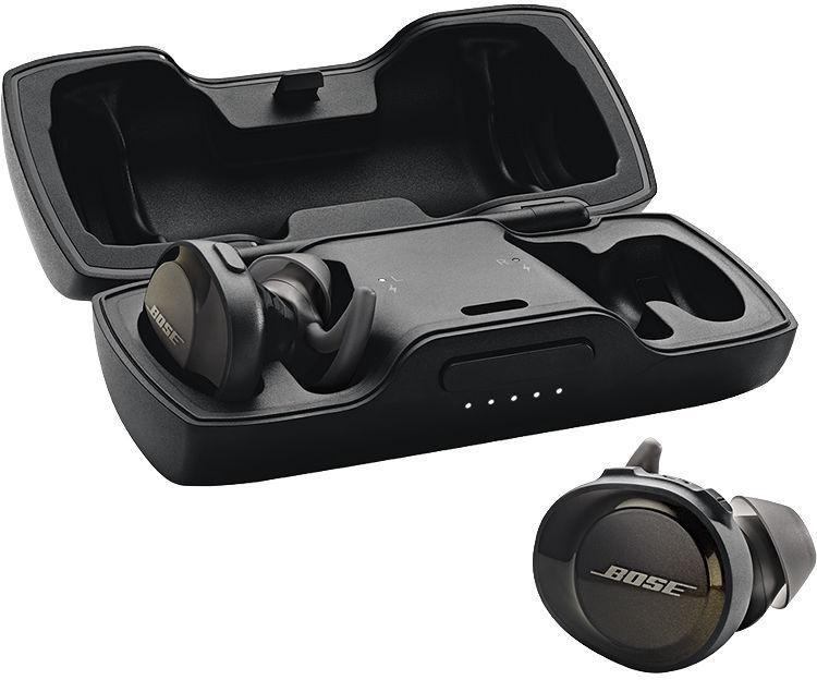Ausinės Bose SoundSport Free Wireless Earphones Black