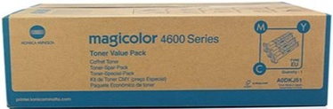 Lazerinio spausdintuvo kasetė Konica Minolta A0DKJ51 Toner Cartridge Cyan Magenta Yellow
