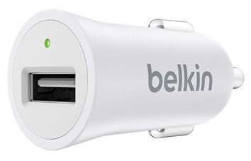 Belkin Mixit Up Universal Car Charger White F8M730btWHT