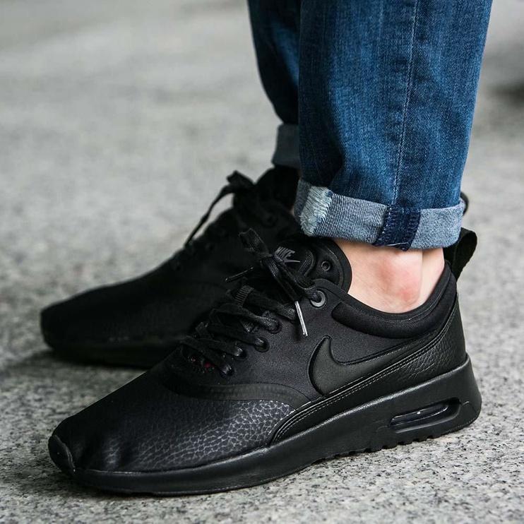 Nike Running Shoes Beautiful X Air Max Thea Ultra Premium 848279-003 Black 36