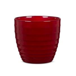 Scheurich 923/16 Flower Pot 16cm Red