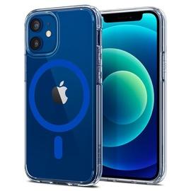 Чехол Spigen Ultra Hybrid Mag Magsafe for iPhone 12 Mini, прозрачный/синий