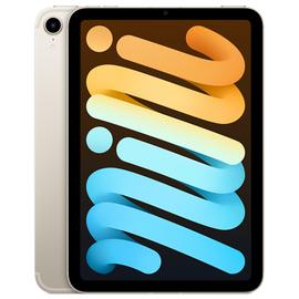 """Planšetdators Apple iPad mini 6, sudraba, 8.3""""/256GB, 3G, 4G"""