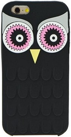 Zooky Soft 3D Back Case For Samsung Galaxy A3 A310F Owl Black