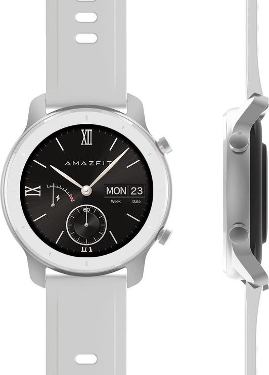 Išmanusis laikrodis Amazfit GTR 42mm Moonlight White