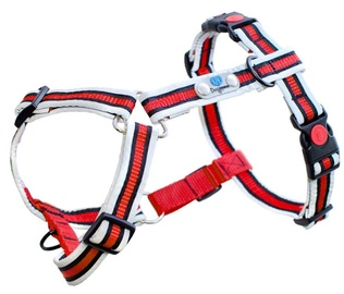 Dogcessories Reflective Anti Pull Plus Dog Harness S Red