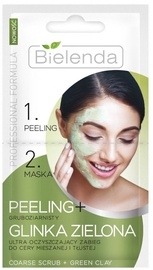 Bielenda Fine-Grained Scrub + Green Clay 2 x 5g