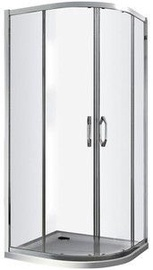 Huppe X1 Glossy Transparent Glass Shower 900x900
