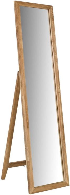 Peegel Home4you Mondeo Oak, teisaldatav, 50.5x160 cm