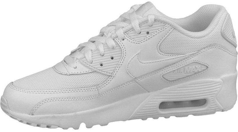 Nike Sneakers Air Max 90 Mesh Gs 833418-100 White 36.5