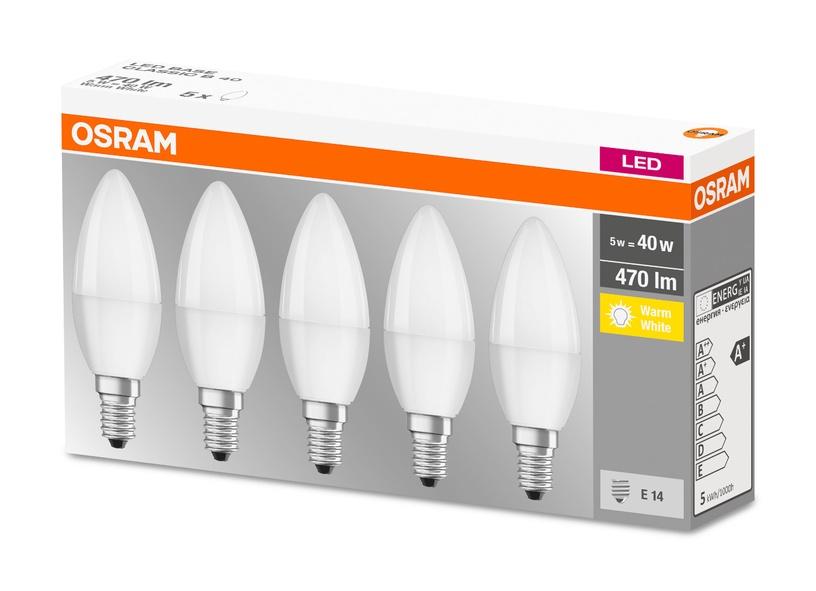 LED SP. CLASSIC B40 5W E14 827 FR 5GAB