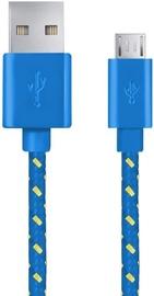 Esperanza Cable USB / USB-micro Blue 2m