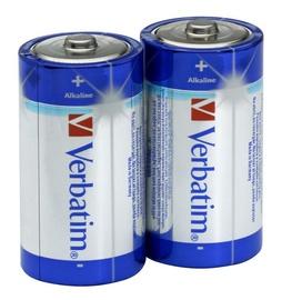 Verbatim Alkaline Batteries 2 x C
