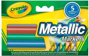 Crayola Metallic Markers 5pcs