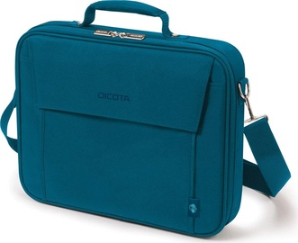 Сумка для ноутбука Dicota Eco Multi Base, синий, 14-15.6″