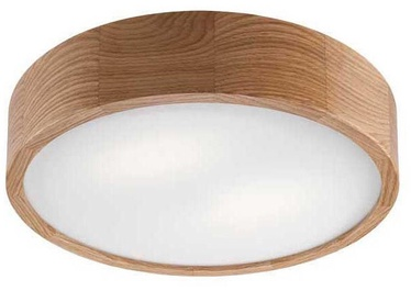 Lamkur 065419 Ceiling Lamp 2x60W E27 Oak