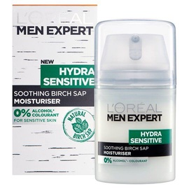 Sejas krēms L´Oreal Paris Men Expert Hydra Sensitive Protecting Moisturiser, 50 ml