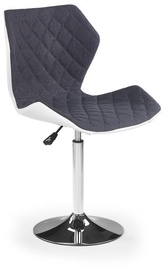 Halmar Matrix 2 Bar Stool Grey/White